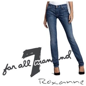 7 for all Mankind FAM Roxanne Denim Skinny Jeans